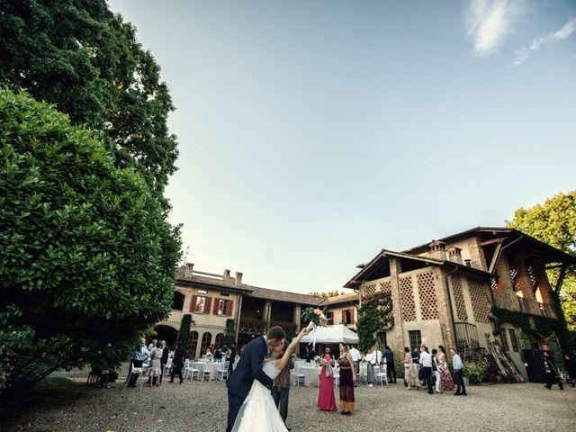 Il matrimonio di Riccardo e Diana a Verderio Superiore, Lecco 77