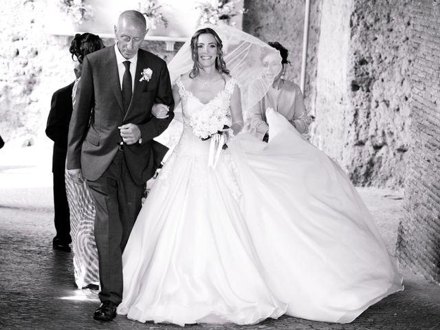 Il matrimonio di Lorenzo e Alessandra a Bassano Romano, Viterbo 16