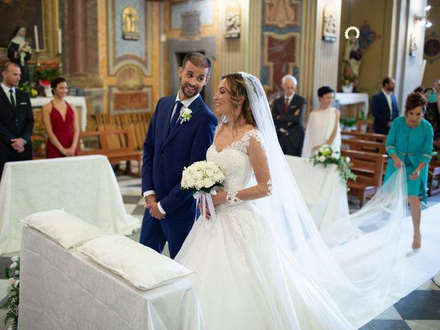 Il matrimonio di Lorenzo e Alessandra a Bassano Romano, Viterbo 18