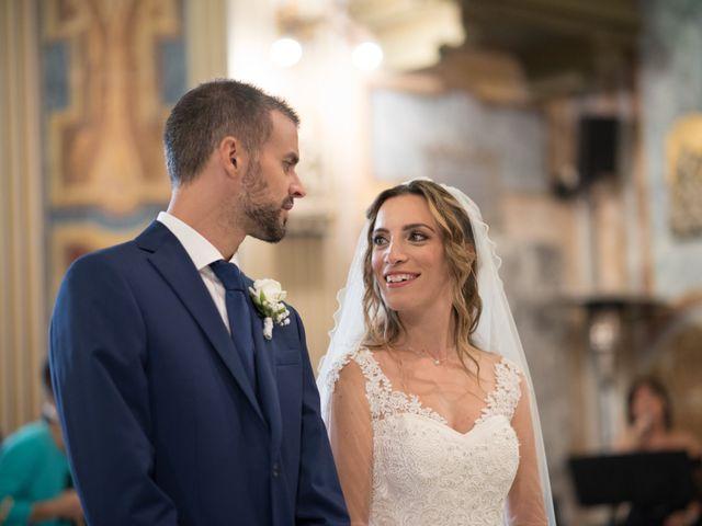 Il matrimonio di Lorenzo e Alessandra a Bassano Romano, Viterbo 19
