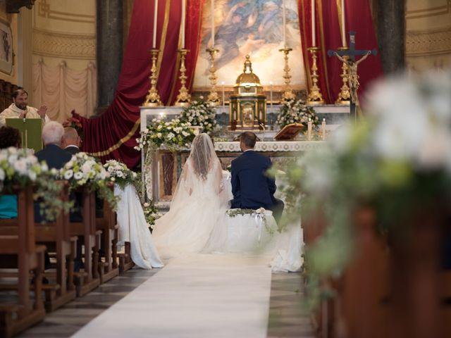 Il matrimonio di Lorenzo e Alessandra a Bassano Romano, Viterbo 20