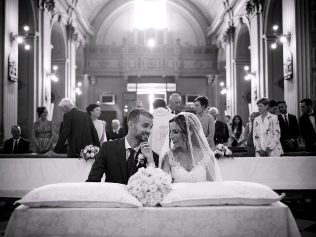 Il matrimonio di Lorenzo e Alessandra a Bassano Romano, Viterbo 21