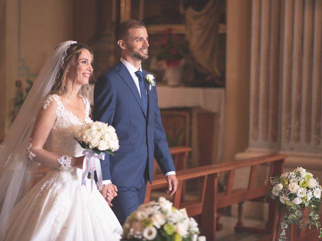Il matrimonio di Lorenzo e Alessandra a Bassano Romano, Viterbo 23