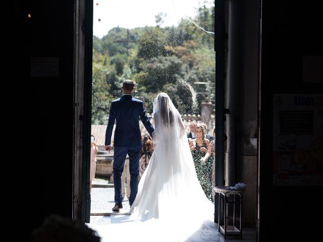 Il matrimonio di Lorenzo e Alessandra a Bassano Romano, Viterbo 24