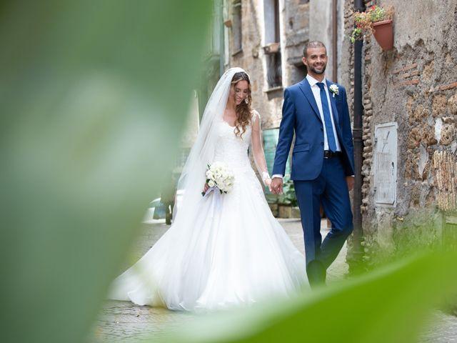 Il matrimonio di Lorenzo e Alessandra a Bassano Romano, Viterbo 26