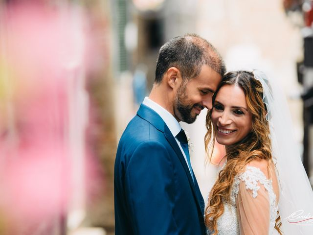 Il matrimonio di Lorenzo e Alessandra a Bassano Romano, Viterbo 27