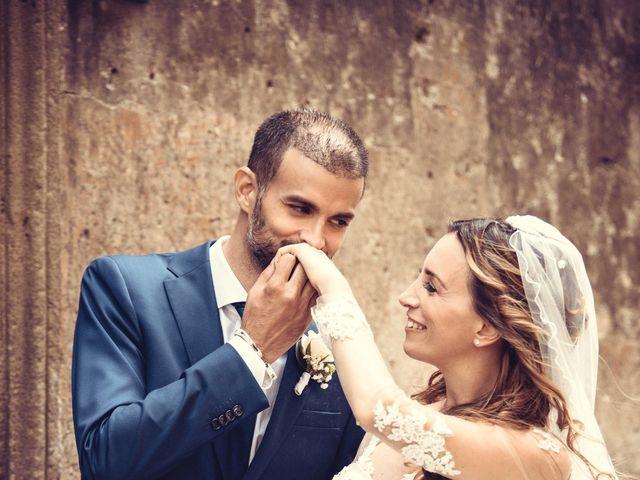 Il matrimonio di Lorenzo e Alessandra a Bassano Romano, Viterbo 28