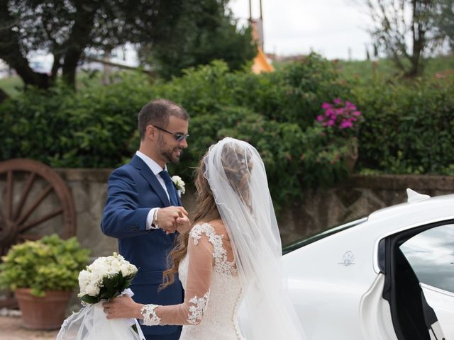 Il matrimonio di Lorenzo e Alessandra a Bassano Romano, Viterbo 30