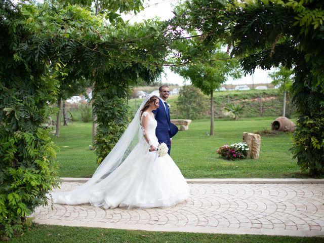 Il matrimonio di Lorenzo e Alessandra a Bassano Romano, Viterbo 31