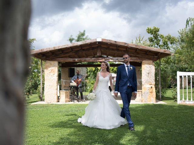 Il matrimonio di Lorenzo e Alessandra a Bassano Romano, Viterbo 32