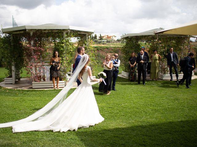 Il matrimonio di Lorenzo e Alessandra a Bassano Romano, Viterbo 33