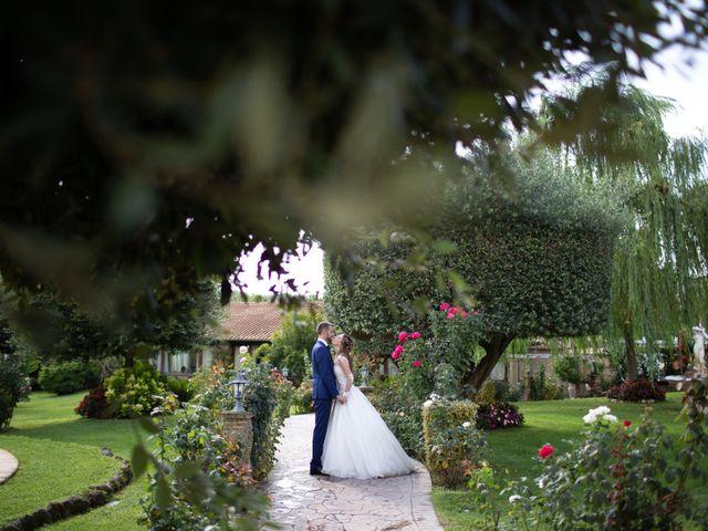 Il matrimonio di Lorenzo e Alessandra a Bassano Romano, Viterbo 53