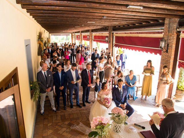 Il matrimonio di Alessandro e Valentina a Erbusco, Brescia 17