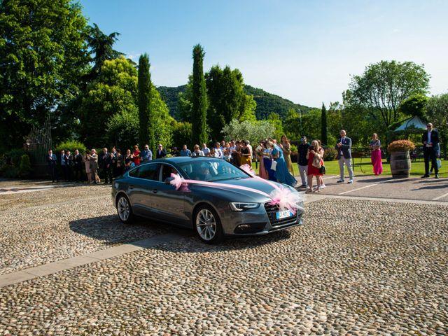 Il matrimonio di Alessandro e Valentina a Erbusco, Brescia 14