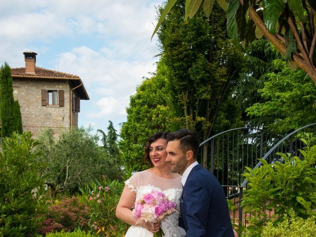 Il matrimonio di Alessandro e Valentina a Erbusco, Brescia 32