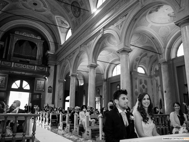 Il matrimonio di Davide  e Sara a Paderno Dugnano, Milano 12
