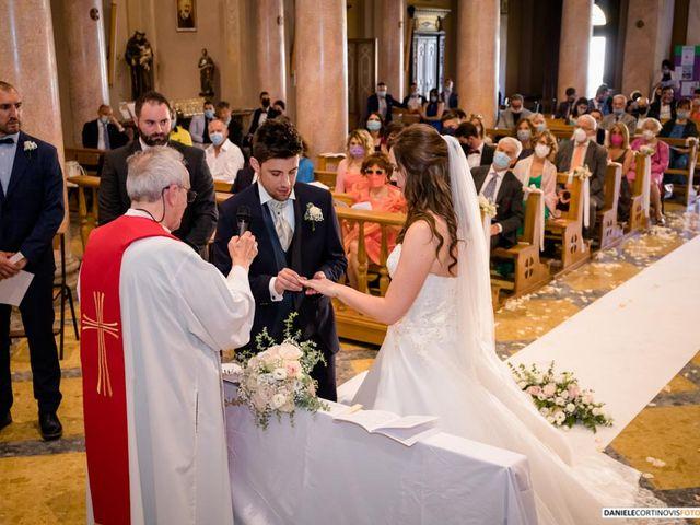 Il matrimonio di Davide  e Sara a Paderno Dugnano, Milano 21