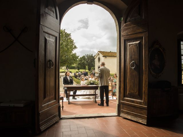 Il matrimonio di Duccio e Francesca a Vinci, Firenze 32