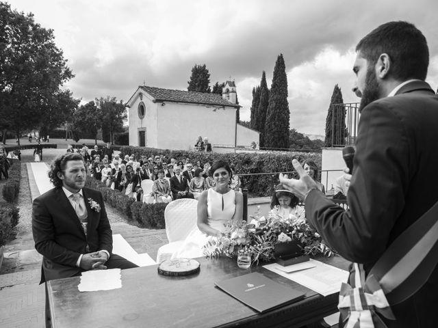 Il matrimonio di Duccio e Francesca a Vinci, Firenze 34