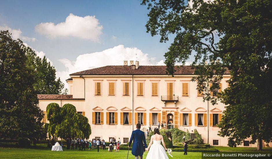 Il matrimonio di Matteo e Sara a Pavia, Pavia