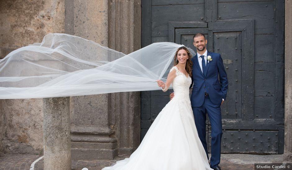 Il matrimonio di Lorenzo e Alessandra a Bassano Romano, Viterbo