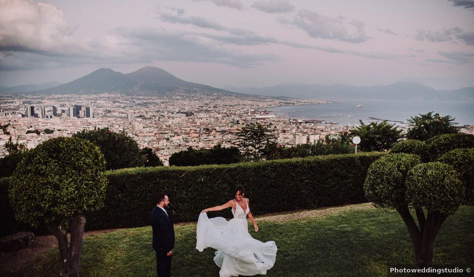 Il matrimonio di Leonardo e Brunella a Napoli, Napoli