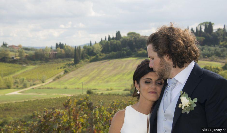 Il matrimonio di Duccio e Francesca a Vinci, Firenze