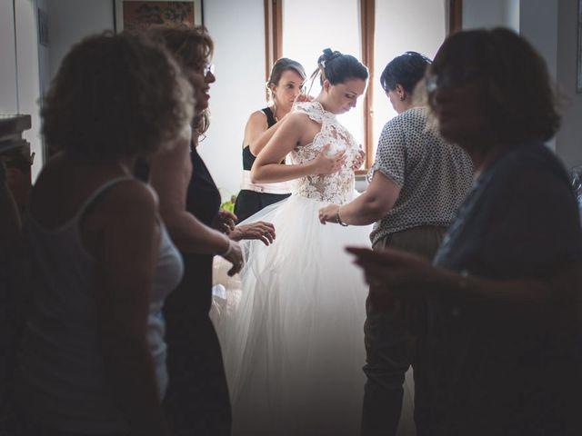 Il matrimonio di Luca e Claudia a Sant'Ippolito, Pesaro - Urbino 7