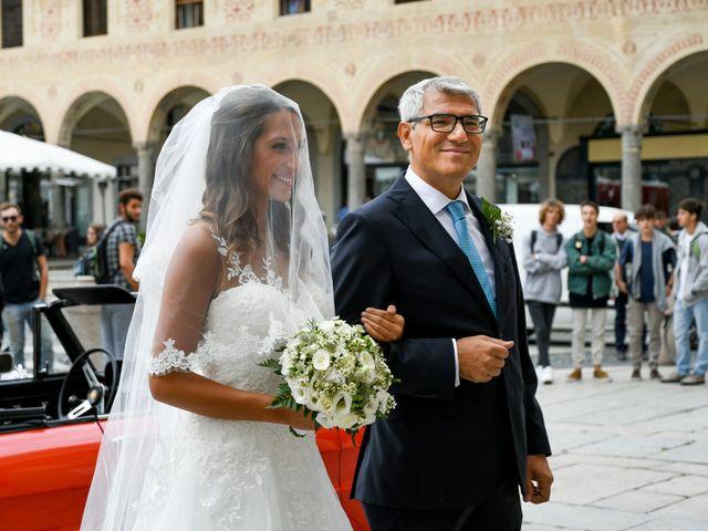 Il matrimonio di Gianfrancesco e Simona a Vigevano, Pavia 19