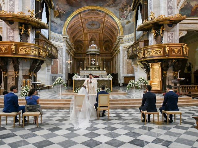 Il matrimonio di Gianfrancesco e Simona a Vigevano, Pavia 25