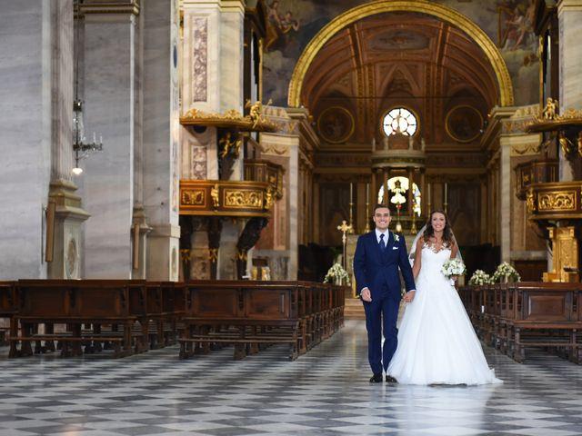 Il matrimonio di Gianfrancesco e Simona a Vigevano, Pavia 30