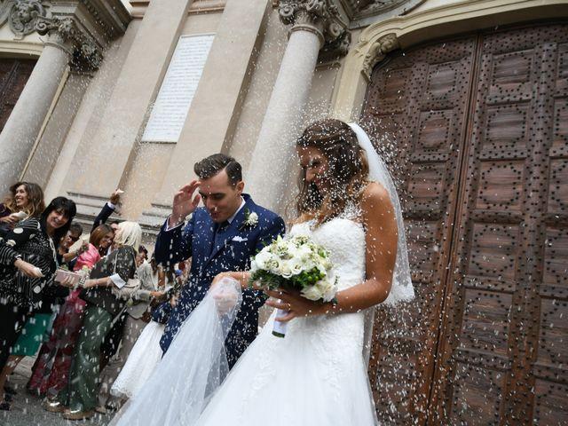 Il matrimonio di Gianfrancesco e Simona a Vigevano, Pavia 32