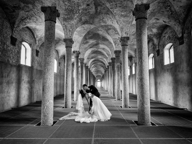 Il matrimonio di Gianfrancesco e Simona a Vigevano, Pavia 36