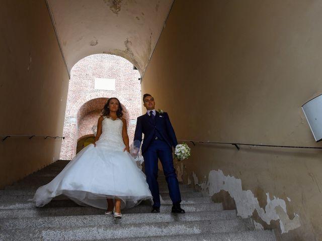 Il matrimonio di Gianfrancesco e Simona a Vigevano, Pavia 38
