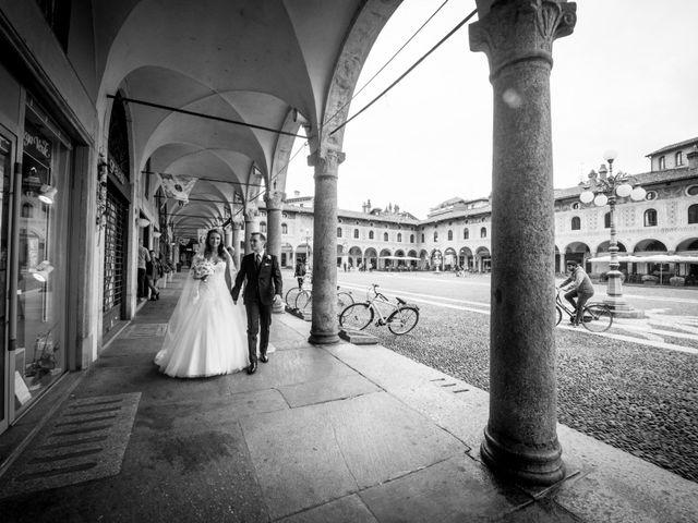 Il matrimonio di Gianfrancesco e Simona a Vigevano, Pavia 39