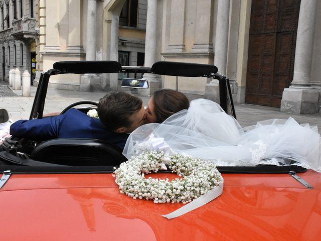 Il matrimonio di Gianfrancesco e Simona a Vigevano, Pavia 41