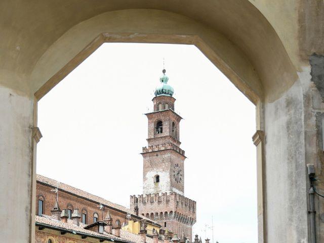 Il matrimonio di Gianfrancesco e Simona a Vigevano, Pavia 42
