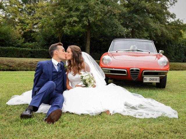 Il matrimonio di Gianfrancesco e Simona a Vigevano, Pavia 52