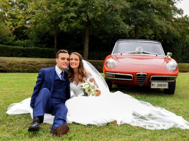 Il matrimonio di Gianfrancesco e Simona a Vigevano, Pavia 53