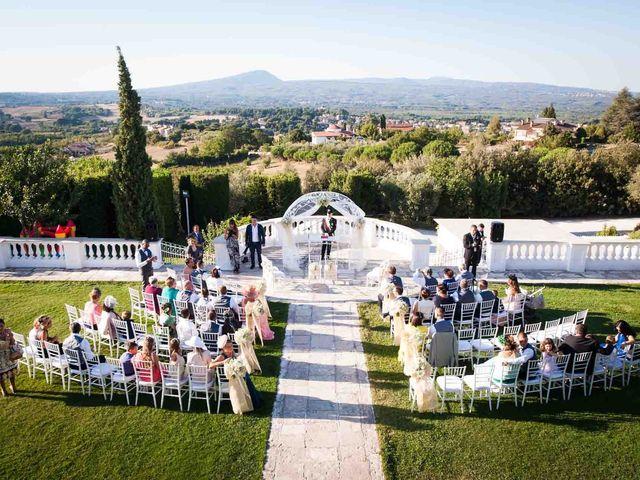 Il matrimonio di Paolo e Terry a Bassano Romano, Viterbo 2