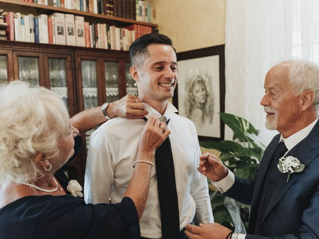 Il matrimonio di Noemi e Pierpaolo a Serramonacesca, Pescara 11