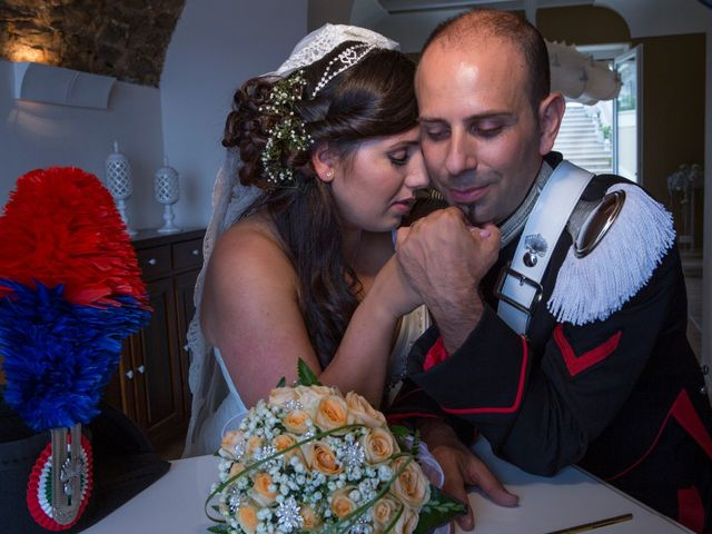 le nozze di Elisa e Michele