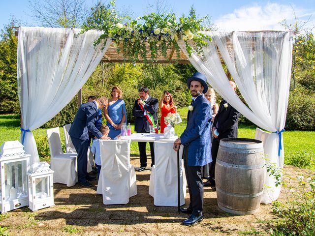 Il matrimonio di Giorgio e Giada a Asti, Asti 45