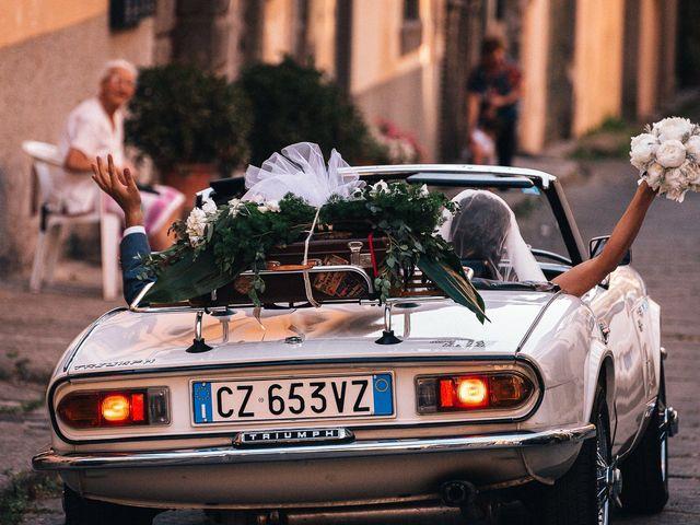 Il matrimonio di Elisa e Federico a Viterbo, Viterbo 51