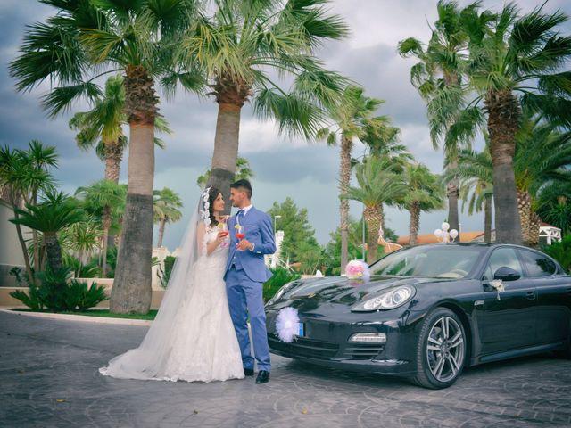 Le nozze di Antonella e Gaetano