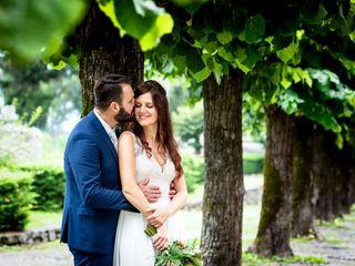 Le nozze di Serena e Christian