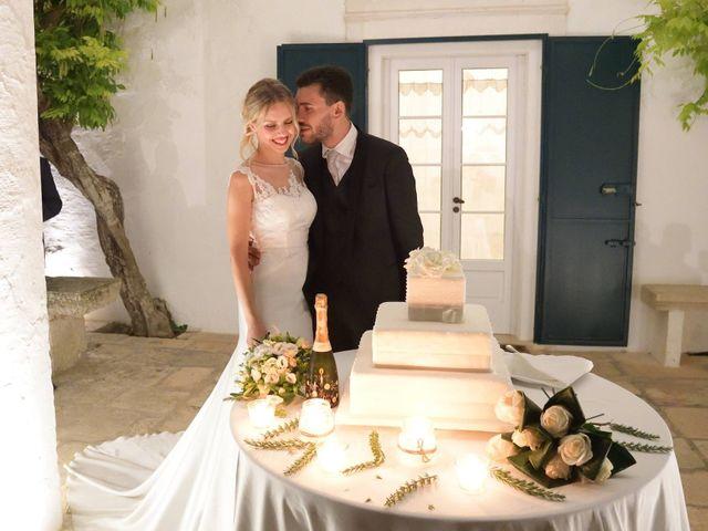 Il matrimonio di Raffaele e Sara a Villa Castelli, Brindisi 82