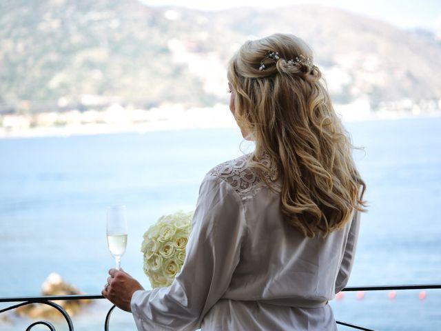 Il matrimonio di Kyle e Niamh a Taormina, Messina 1