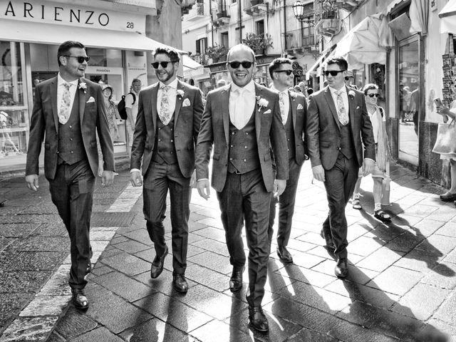 Il matrimonio di Kyle e Niamh a Taormina, Messina 7