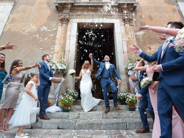 Il matrimonio di Kyle e Niamh a Taormina, Messina 14